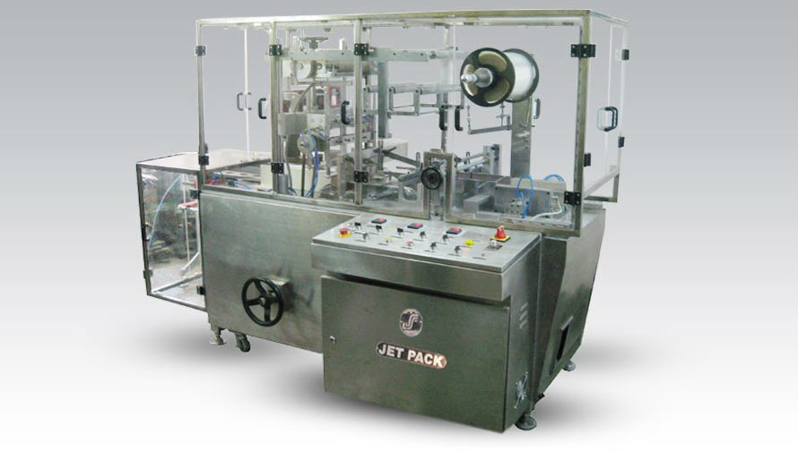 Automatic Collating and Over Wrapping Machine jet COWR