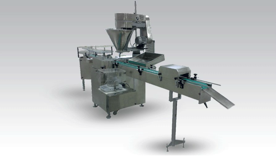 Automatic Single Head Powder Filling JET-PF45-SR